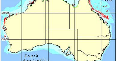 Australia Coral Reef Maps