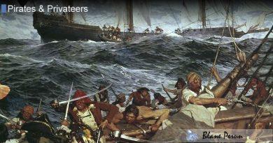 Blackbeard Captured 40 Ships During His Career
