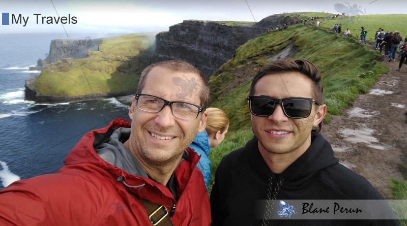 My Travels To Cliffs of Moher from Blane Peruns TheSea.Org
