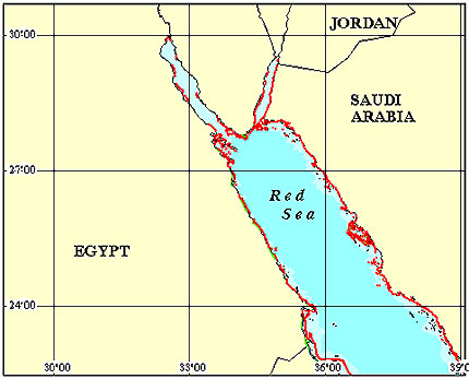 Egypt Coral Reef Maps Best Rated Snorkel Dive Locations