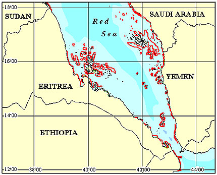 Eritrea Coral Reef Maps and more about reef maps
