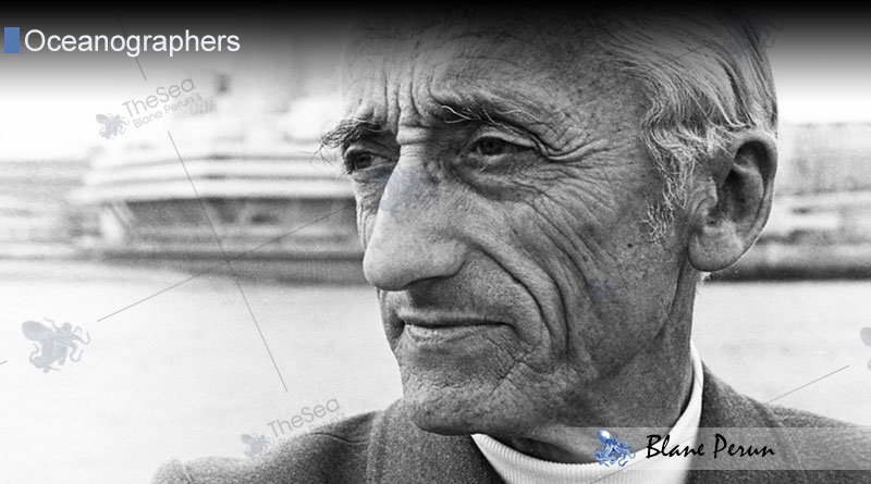 Jacques Cousteau and more about oceanographers