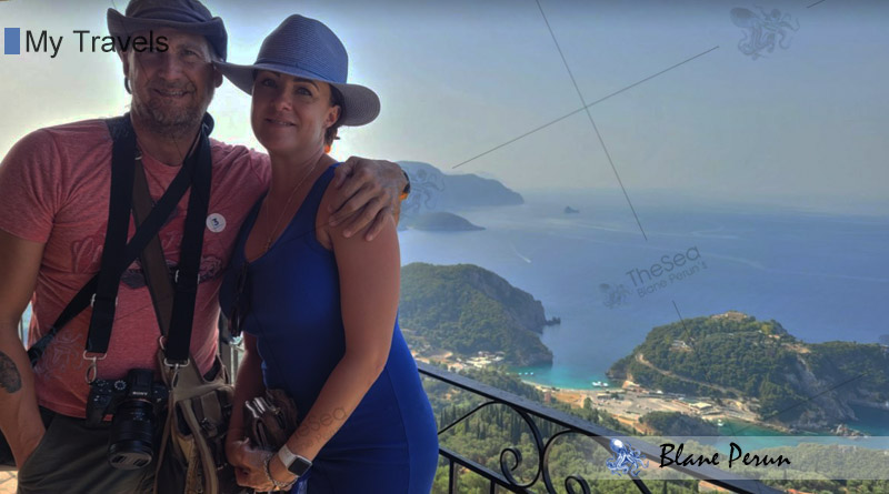 My Travels To Corfu Greece from Blane Peruns TheSea.Org