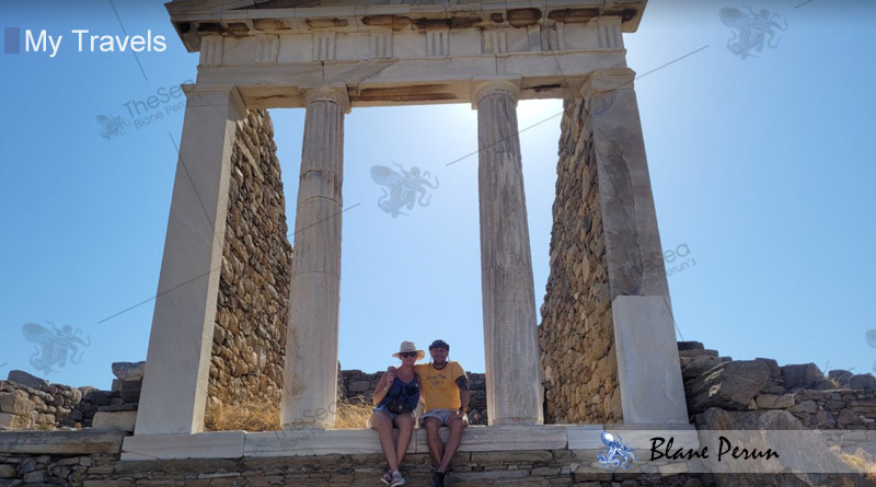 My Travels To Mykonos Greece from Blane Peruns TheSea.Org