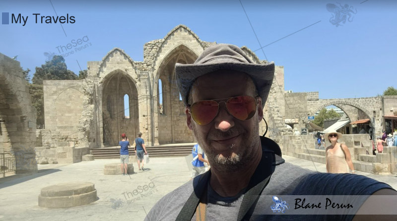 My Travels To Rhodes Greece from Blane Peruns TheSea.Org