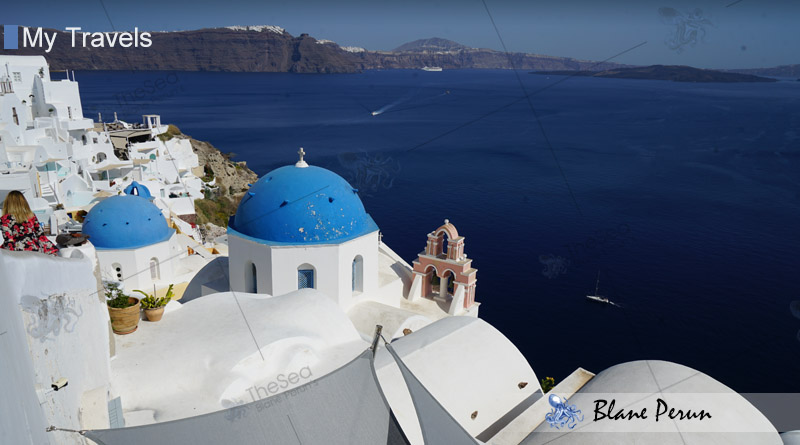 My Travels To Santorini Greece from Blane Peruns TheSea.Org