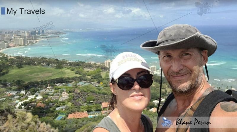 My Travels To Hawaii Honolulu from Blane Peruns TheSea.Org