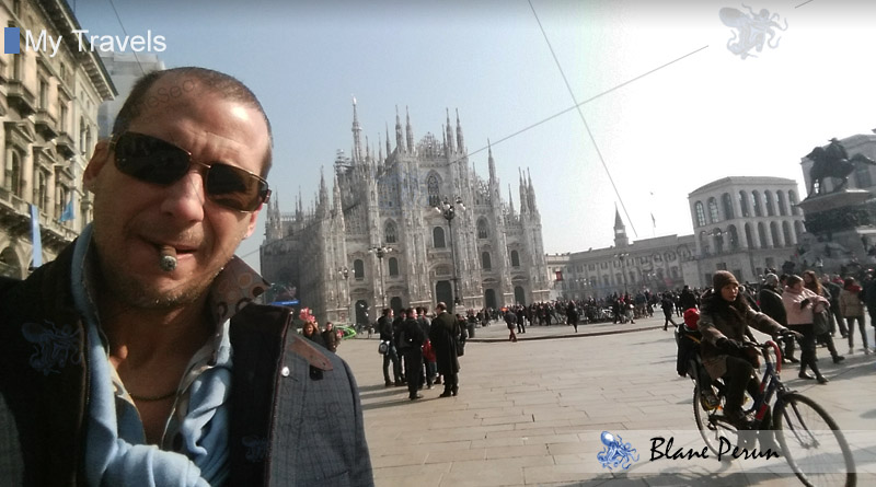 My Travels To Milan from Blane Peruns TheSea.Org