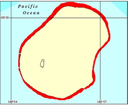 Nauru Coral Reef Maps from Blane Peruns TheSea
