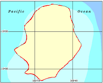 Niue Coral Reef Maps from Blane Peruns TheSea