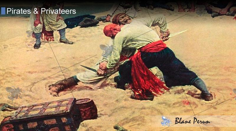 Pirates Rarely Buried Treasure from Blane Peruns TheSea