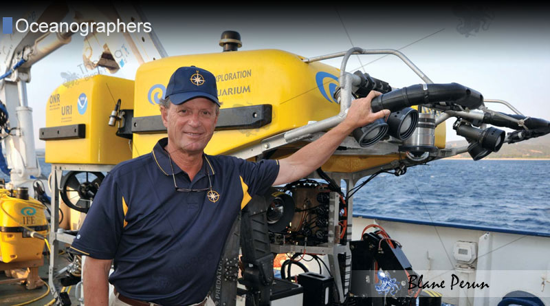 Robert Ballard and more about oceanographers