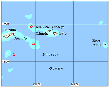Samoa Coral Reef Maps from Blane Peruns TheSea