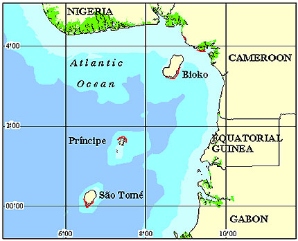 Sao Tome Principe Coral Reef Maps Best Rated Snorkel Dive Locations