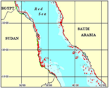 Sudan Coral Reef Maps from Blane Peruns TheSea
