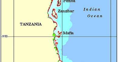 Tanzania Coral Reef Maps