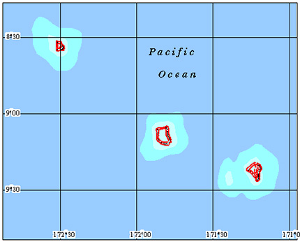 Tokelau  Coral Reef Maps and more about reef maps