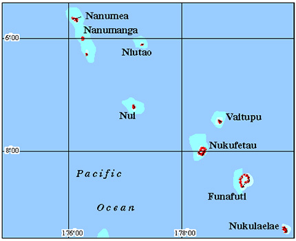 Tuvalu Coral Reef Maps from Blane Peruns TheSea
