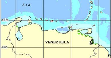 Venezuela Coral Reef Maps