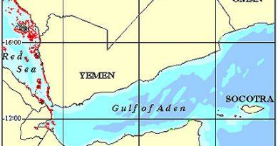 Yemen Coral Reef Maps